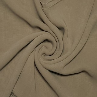 Plain Chiffon Hijab - Brown