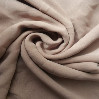 Plain Chiffon Hijab - Khaki Brown