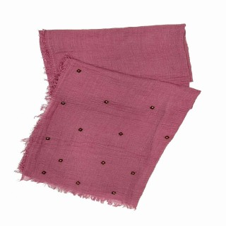 Designer Crush Star-Studded Scarf - Pink