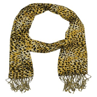 Tiger Printed Cotton Stole