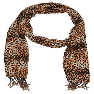 Premium Tiger printed Scarf- Cotton