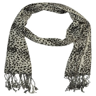Cheetah Printed Cotton Stole