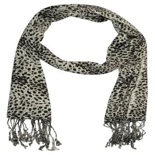 Cheetah Printed Cotton Stole