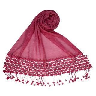 Cotton designer Hijab- Pink
