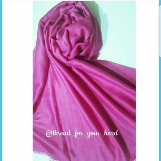 Hijab wrap - Baby Pink Glitter Stole