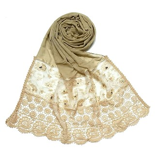Limited Stock - Fashionable Designer stole | Brown