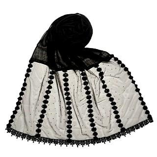 Premium Cotton Hijab- Black