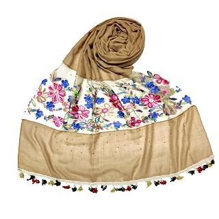 Flower Aari Diamond Collection - Brown