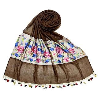 Flower Aari Diamond Collection - Brown