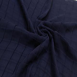 Chiffon Checkered Hijab - Blue