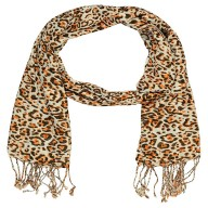 Premium Rayon Tiger Printed Stole