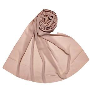 Premium chiffon plain stole - Light Pink
