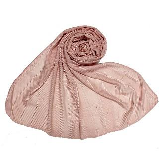 Designer diamond studded  hijab- Pink
