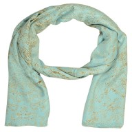 Premium Saturn Digital Print Stole-Blue