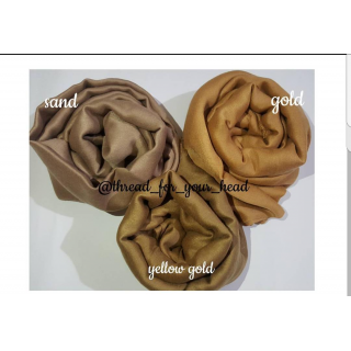 Combo Pack- 3 piece Plain Cotton Scarf