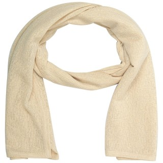 Cotton Plain Women's Stole - Baby Pink