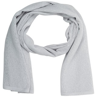 Cotton Plain Women's Stole - Grey