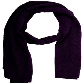 Cotton Plain Women's Stole - Purple
