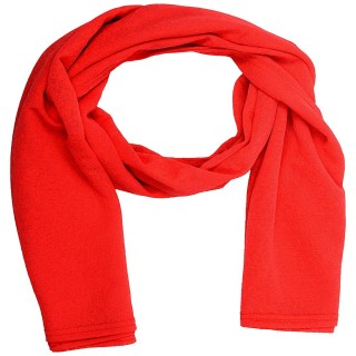 Cotton Plain Women's Stole - Red