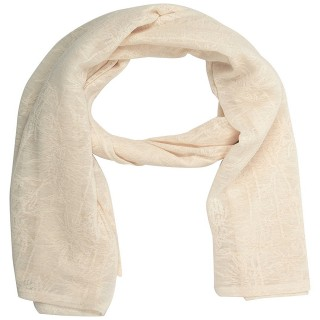 Cotton Plain Stole - Dark Cream