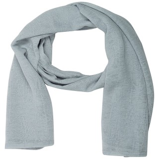 Cotton Plain Women's Stole - Cloudish Grey