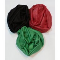 Combo Shimmer Glitter Stole- Black | Red |Green