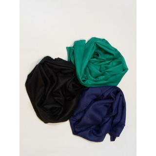 Combo Rayon Stole -  Black| Green|Royal Blue