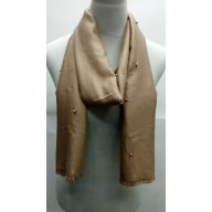Cotton Plain Stole - Green