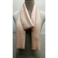 Cotton Plain Stole - Pink