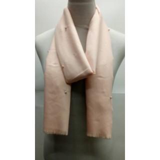 Cotton Plain Stole - Pink