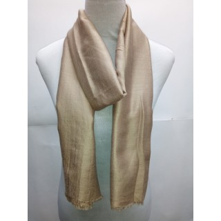 Cotton Plain Glitter Stole - Tortilla Brown