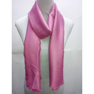 Cotton Plain Glitter Stole - Pink