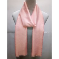 Cotton Plain Glitter Stole - Light Pink