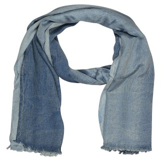 Jeans Shaded Stole- Blue Color