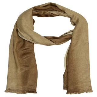 Jeans Shaded Stole- Brown Color