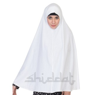 Prayer Hijab Large- White