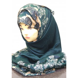 Pakistani Shawl - Heavy soft printed hijab