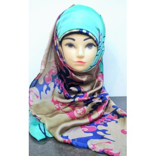 Multi color scarf from Premium Collection