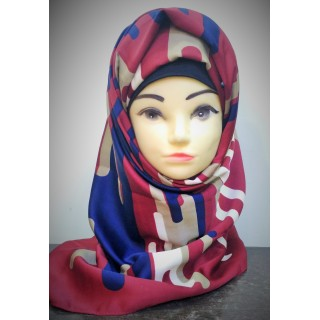 Turkish Scarf-  Multi Printed