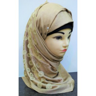 Premium Collection - Beige Color Scarf
