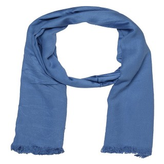Light Blue - Satin Plain Stole