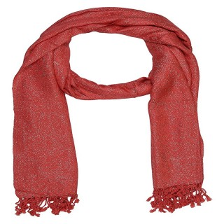 Shimmer Stole- Red Color