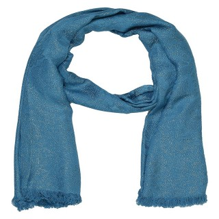 Shimmer Stole- Blue Color