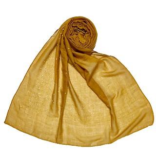 Dual Tone Premium Yellow Cotton Hijab