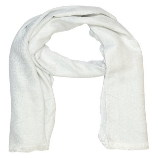 Shimmer Stole -white color