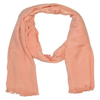 Satin Plain Stole-Light Pink  Color
