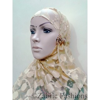 Hijab- Skin color with cap