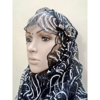 Hijab-Simple Black designer Hijab