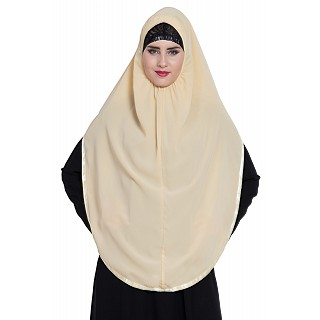 Premium Instant Hijab- Fawn color