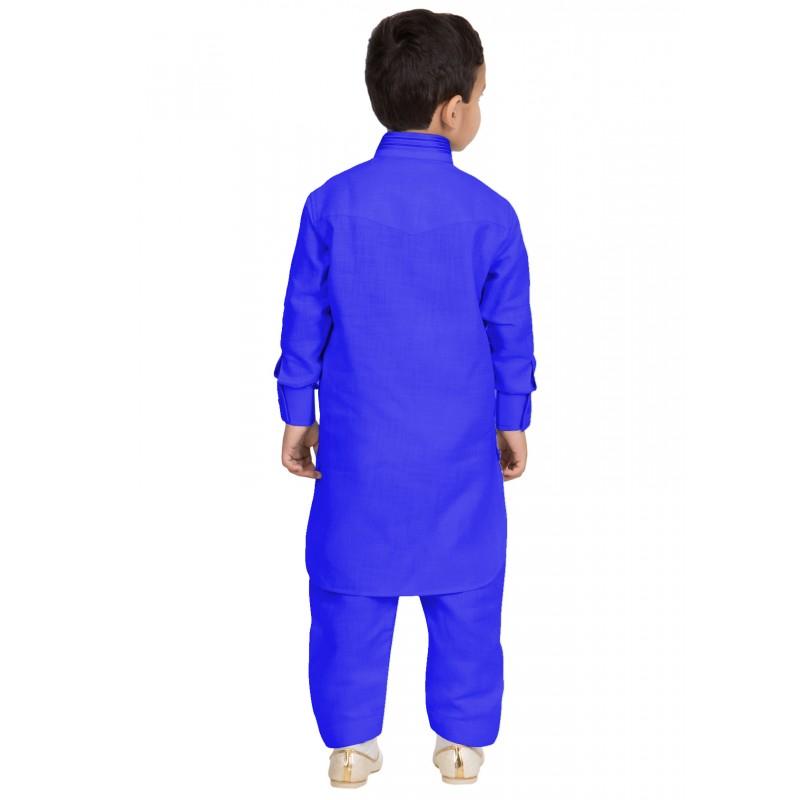 Pathani Kurta Pajama For Kids Online In India Royal Blue
